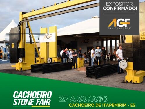 AGF na Cachoeiro Stone Fair 2019