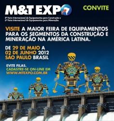 Convite: Visite a AGF Equipamentos na M&T Expo 2012