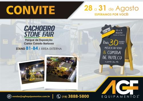 AGF na Cachoeiro Stone Fair 2018