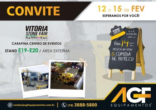 AGF na Vitória Stone Fair 2019