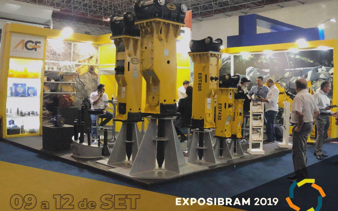 AGF expõe sua ampla linha de equipamentos para mineração na Exposibram 2019