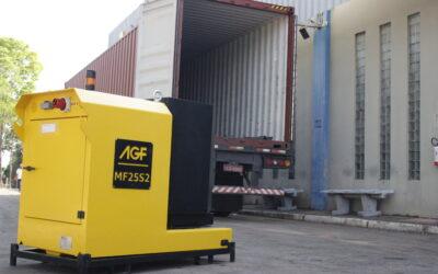 AGF Equipamentos® ultrapassa fronteiras e realiza sua primeira exportação para a Europa!