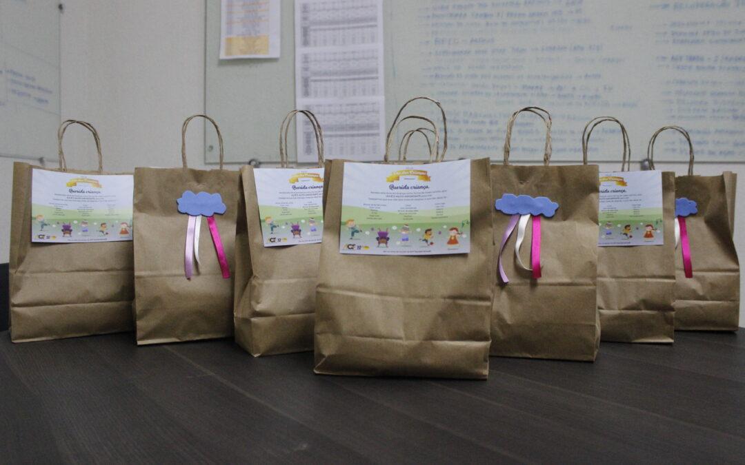 AGF Equipamentos® realiza ação do DIA DAS CRIANÇAS para os filhos dos colaboradores